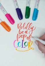 Zebra Funwari Fude Color Brush Pen