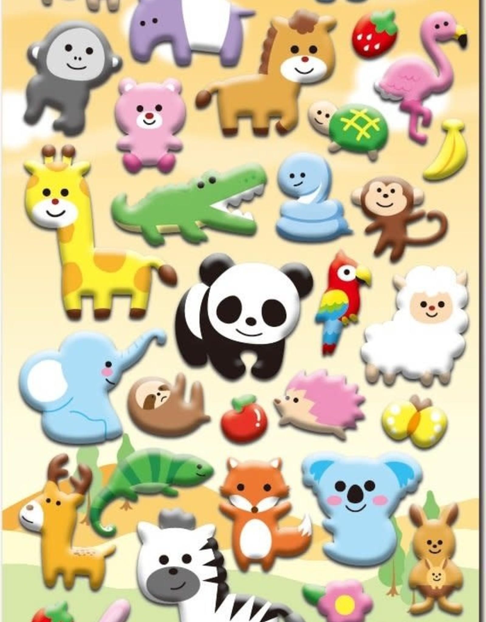 Nekoni Puffy Sticker Sheet