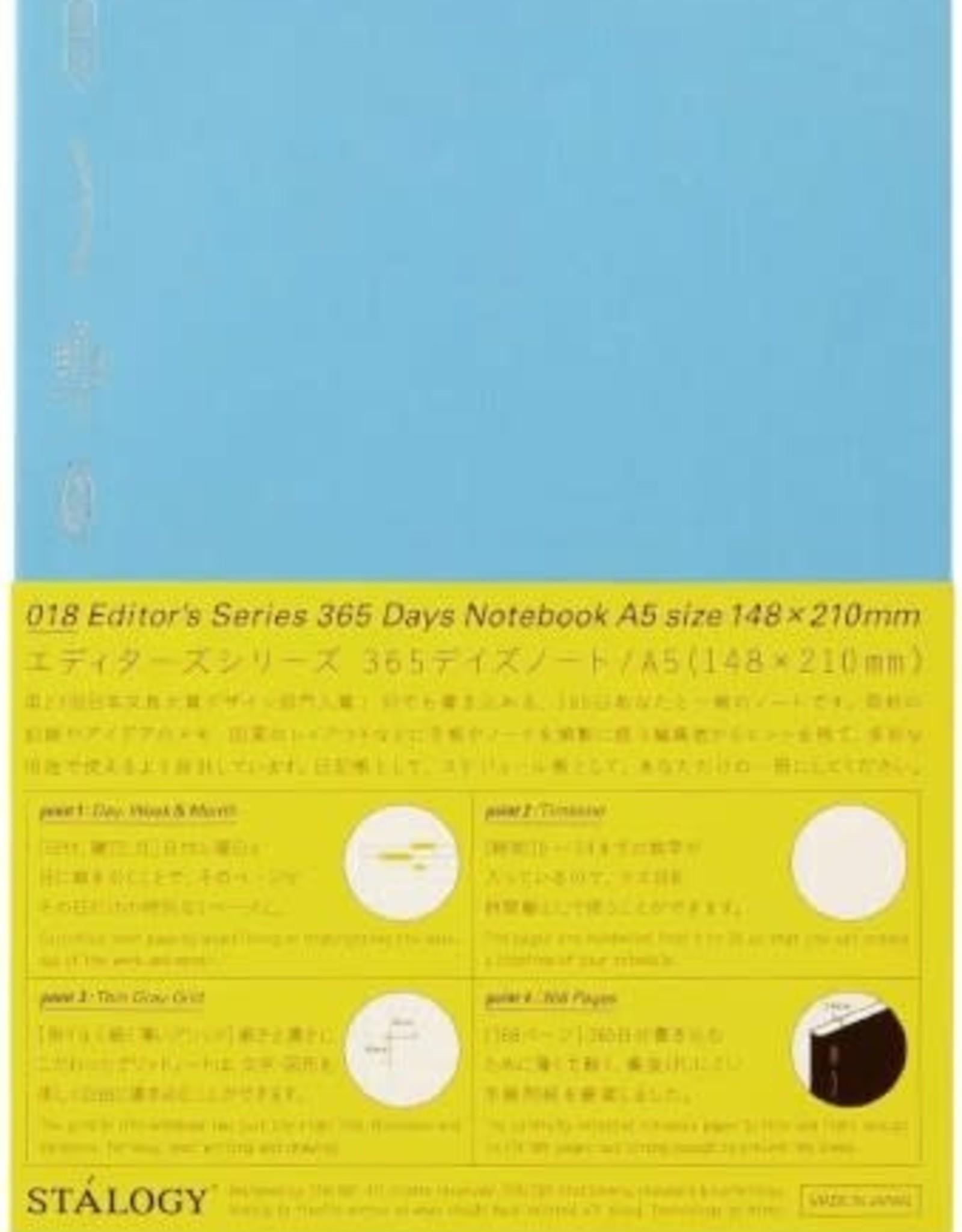 Stalogy 365 Days Notebook A5