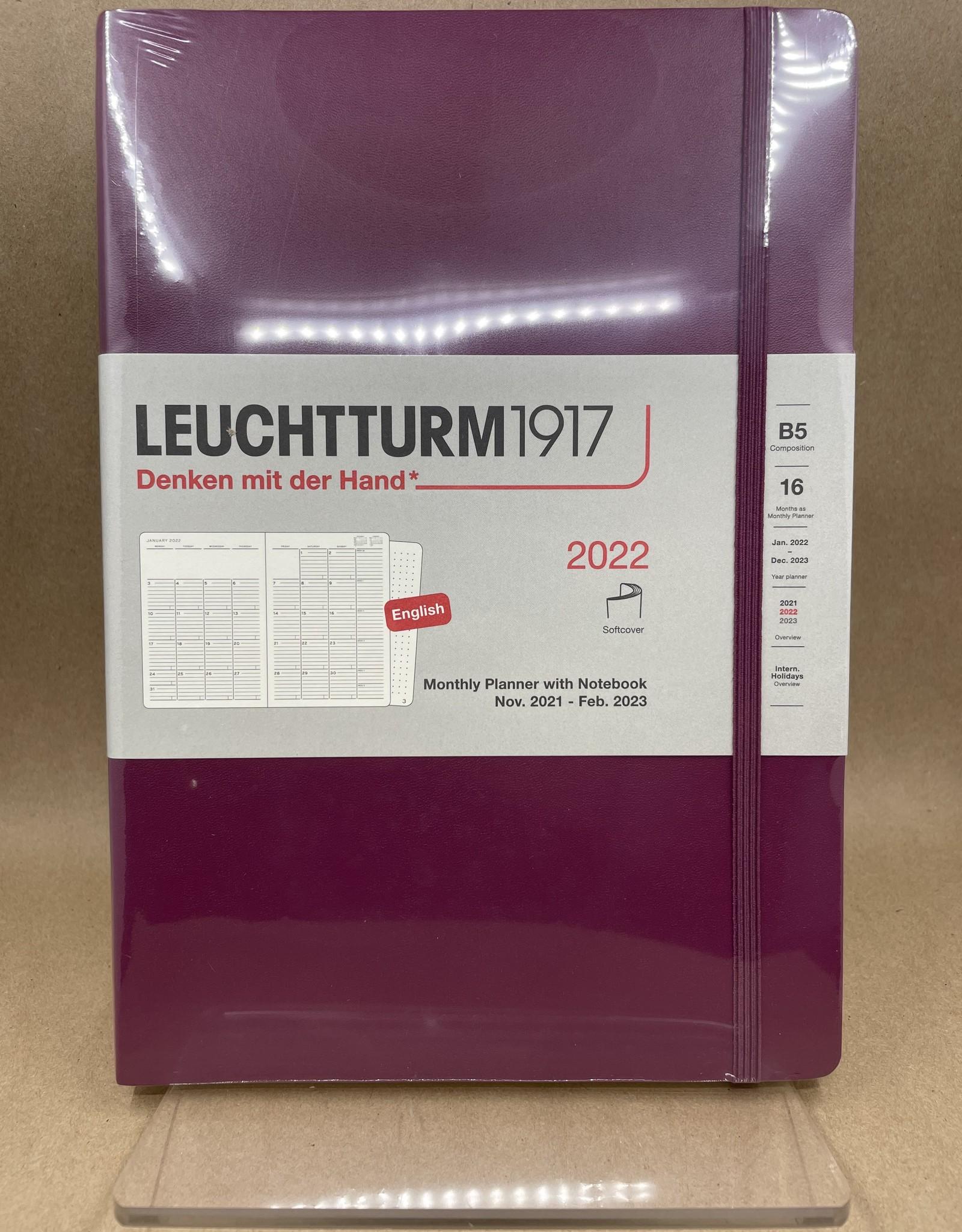 Leuchtturm 1917 2022 Monthly Planner & Notebook