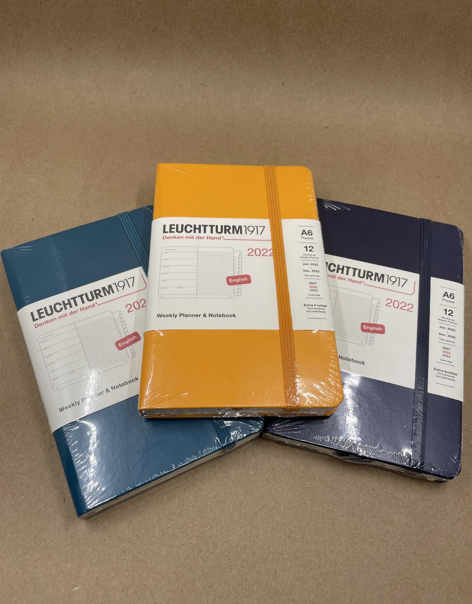 Leuchtturm 1917 2022 Weekly Planner & Notebook