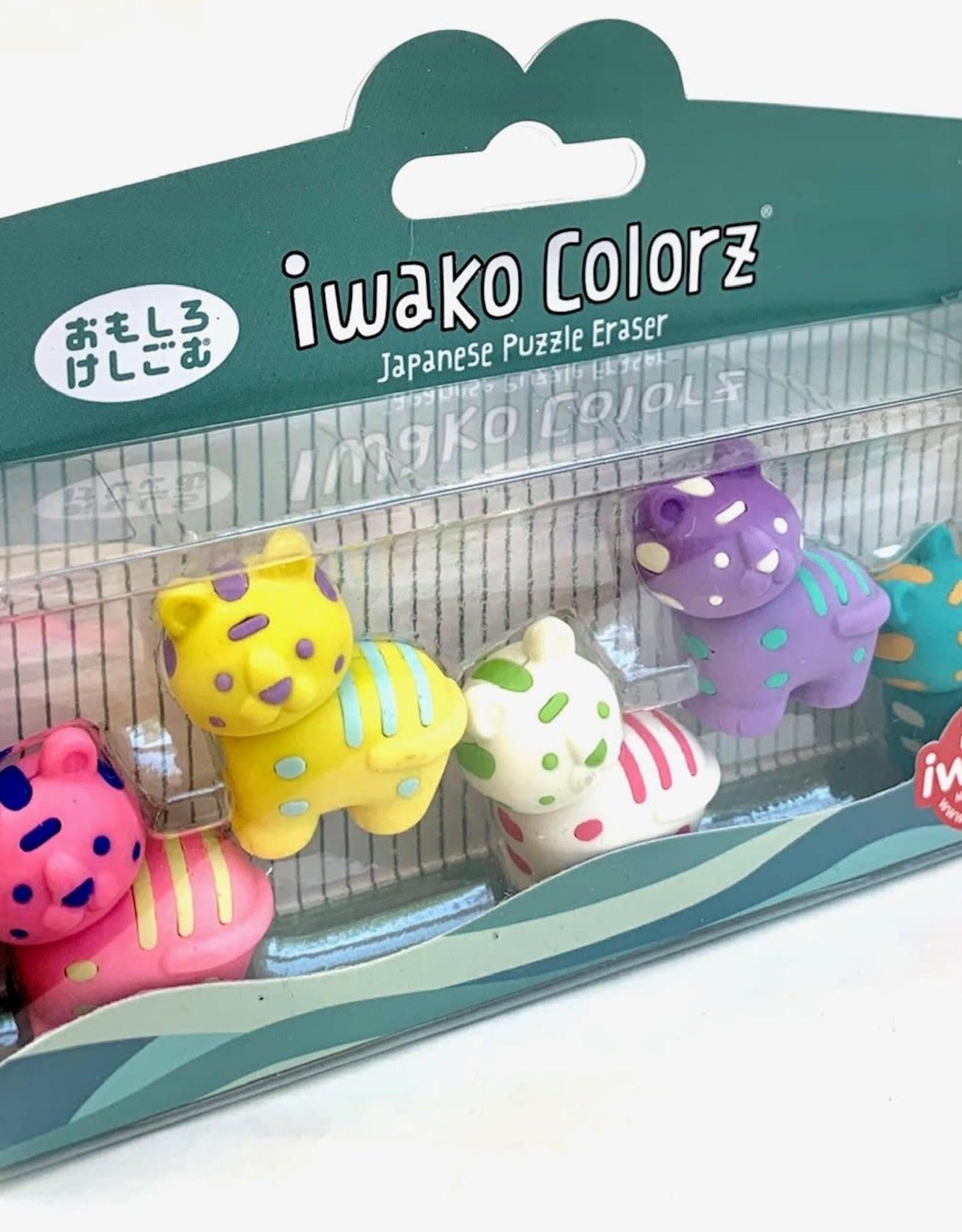 Iwako Colorz Eraser 5 pc Set