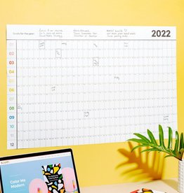 Poketo 2022 Dated Poster Planner