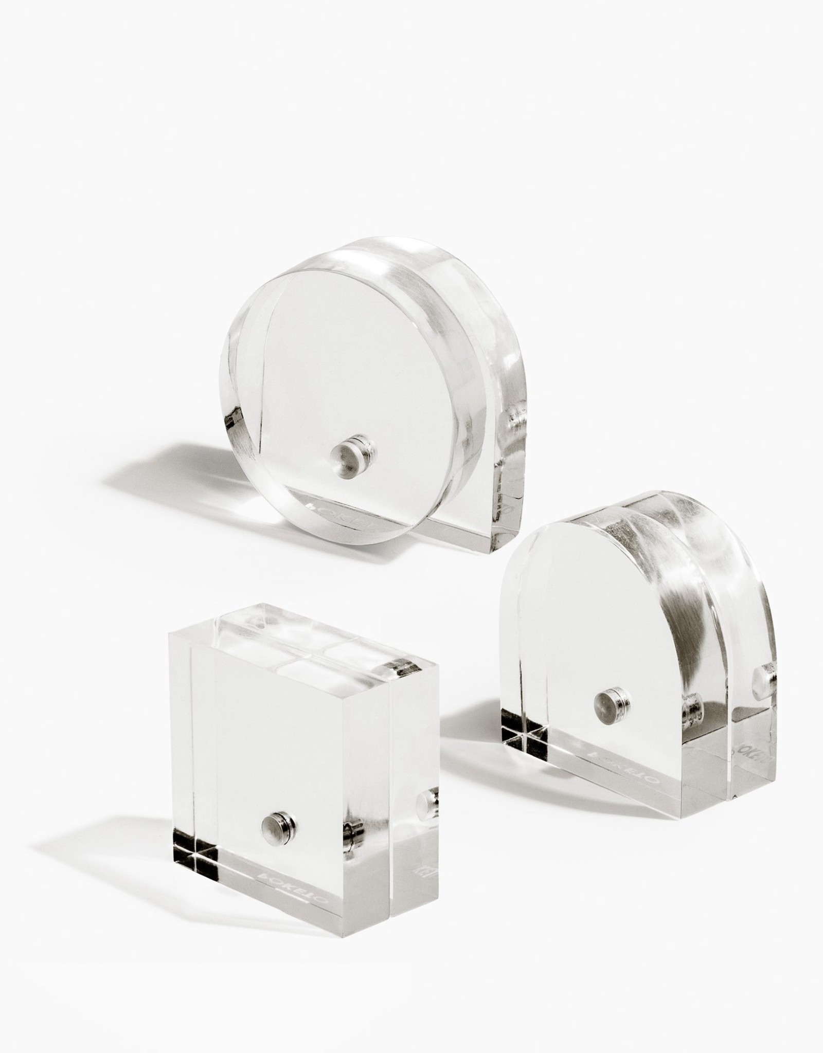 Poketo Shapes Magnet Stands Set