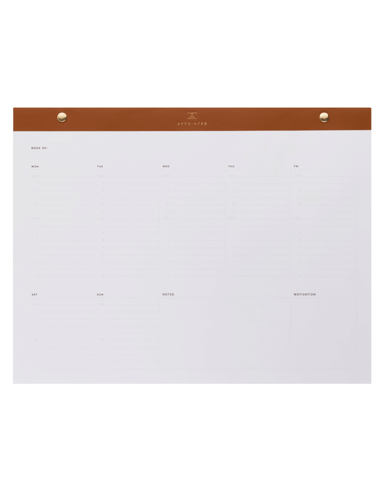 Appointed Daily Desktop Planner