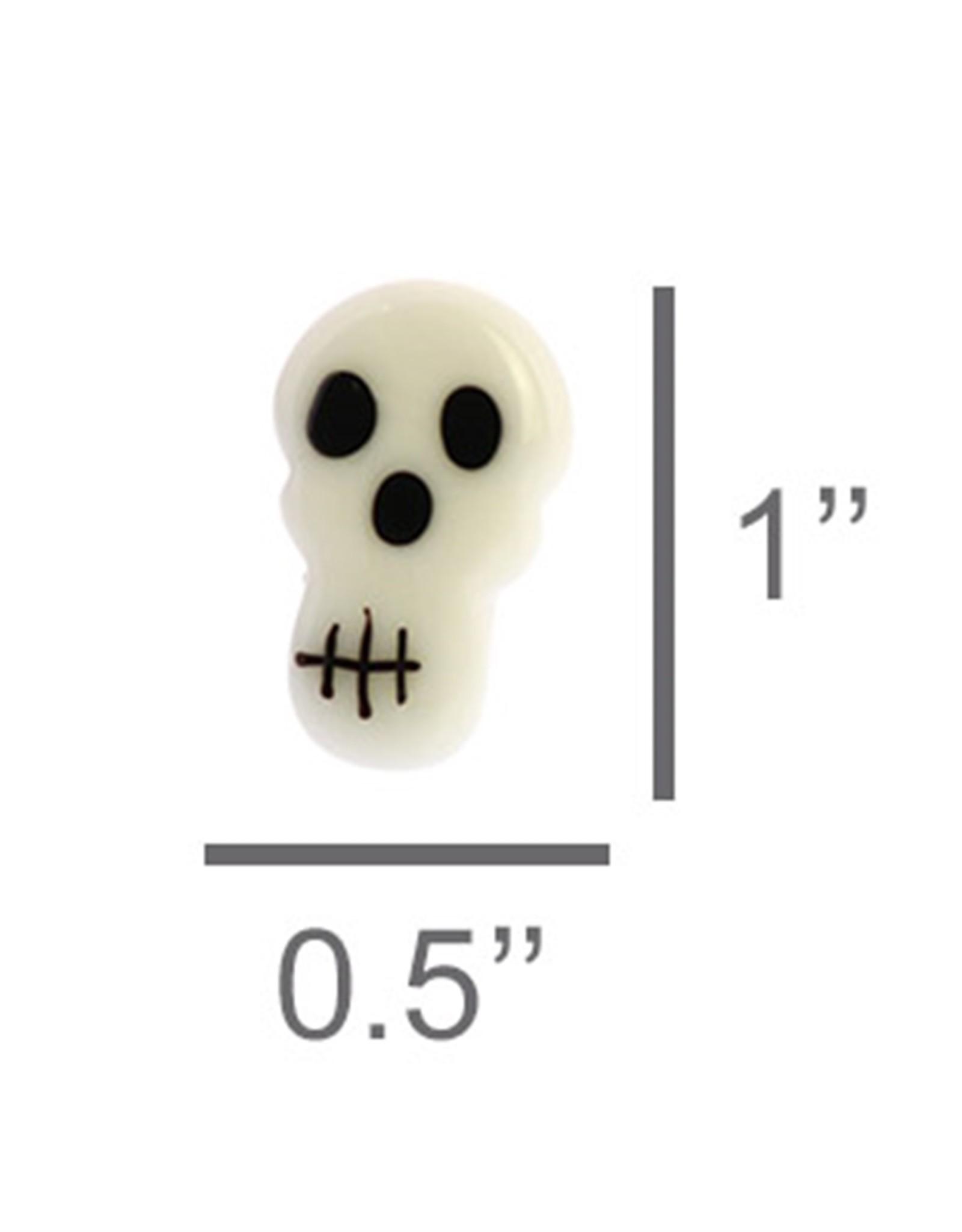 HomArt Tiny Glass Skull