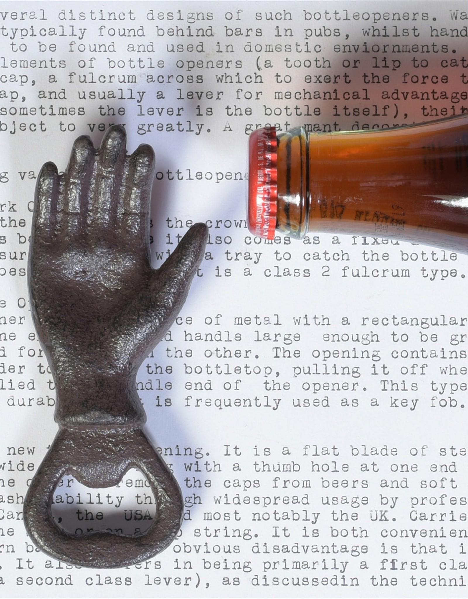 HomArt Cast Iron Hand Bottle Opener