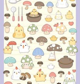 Nekoni Cute Flat Sticker
