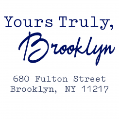Yours Truly, Brooklyn