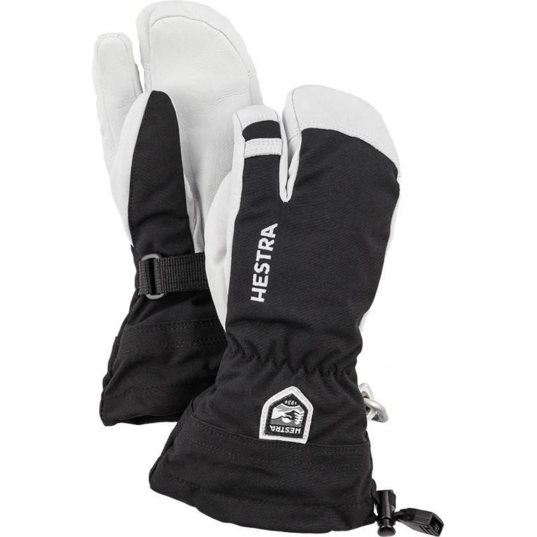 Hestra Hestra Army Leather Heli Ski 3 Finger Jr