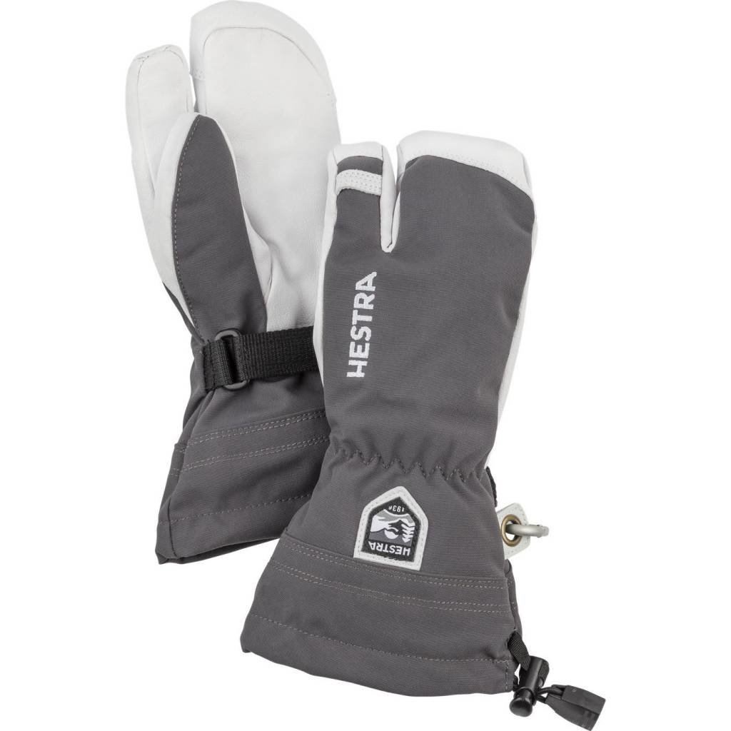 Hestra Hestra Army Leather Heli Ski 3 Finger Jr