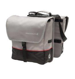 BLACKBURN Blackburn Local Saddle Bag Pannier - Black/Grey