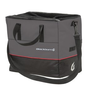 BLACKBURN Blackburn Local Grocery Pannier - Gray/Black