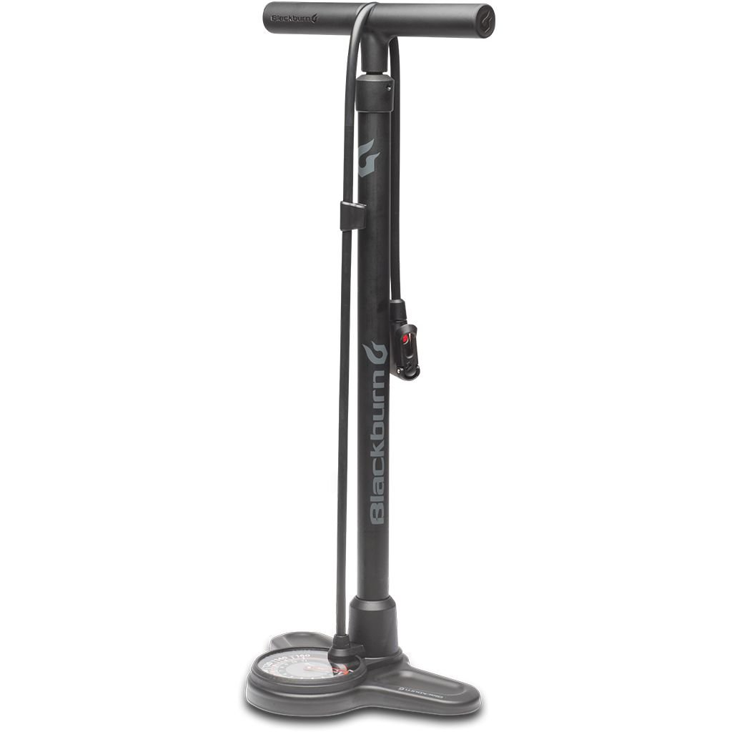 BLACKBURN Blackburn Piston 3  Floor Pump - Black/Grey