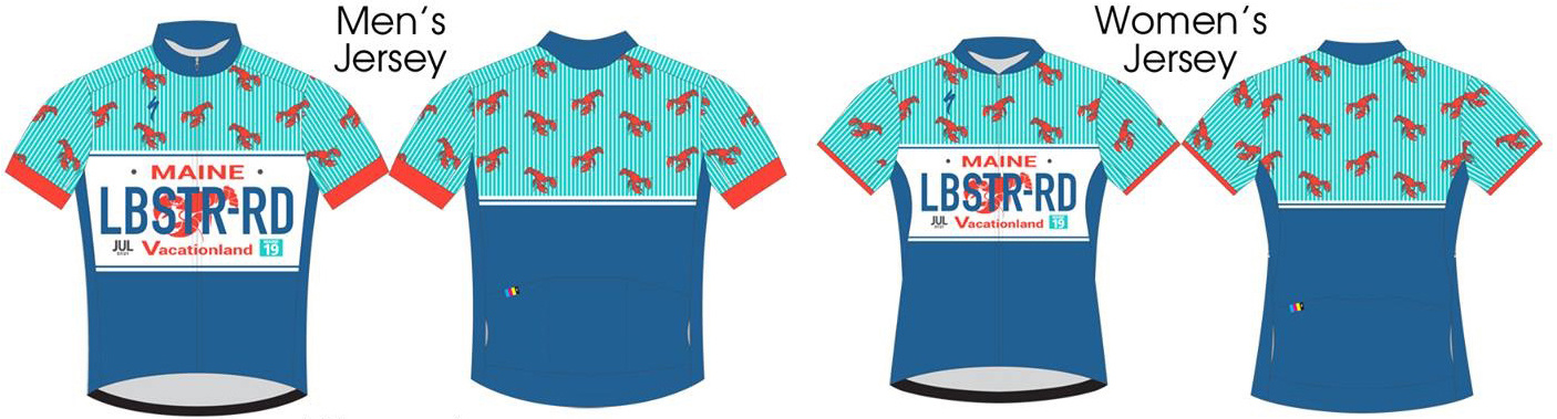 Maine Lobster Ride Jersey