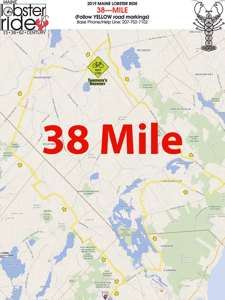 38 Mile Route