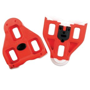 Look Look Delta Cleats For Peloton, Red, 9°