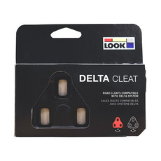 Look Look Delta Cleats For Peloton, Black, 0°