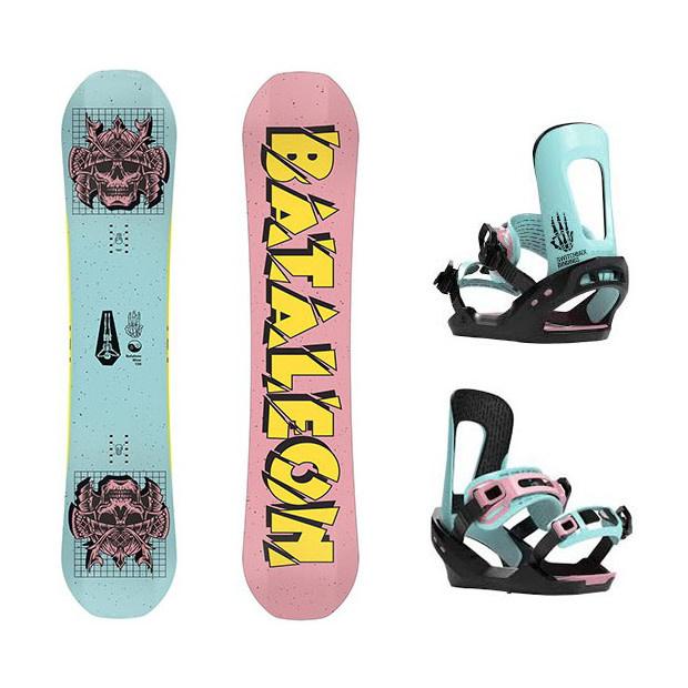 Bataleon Blow Combo Snowboard And Bindings