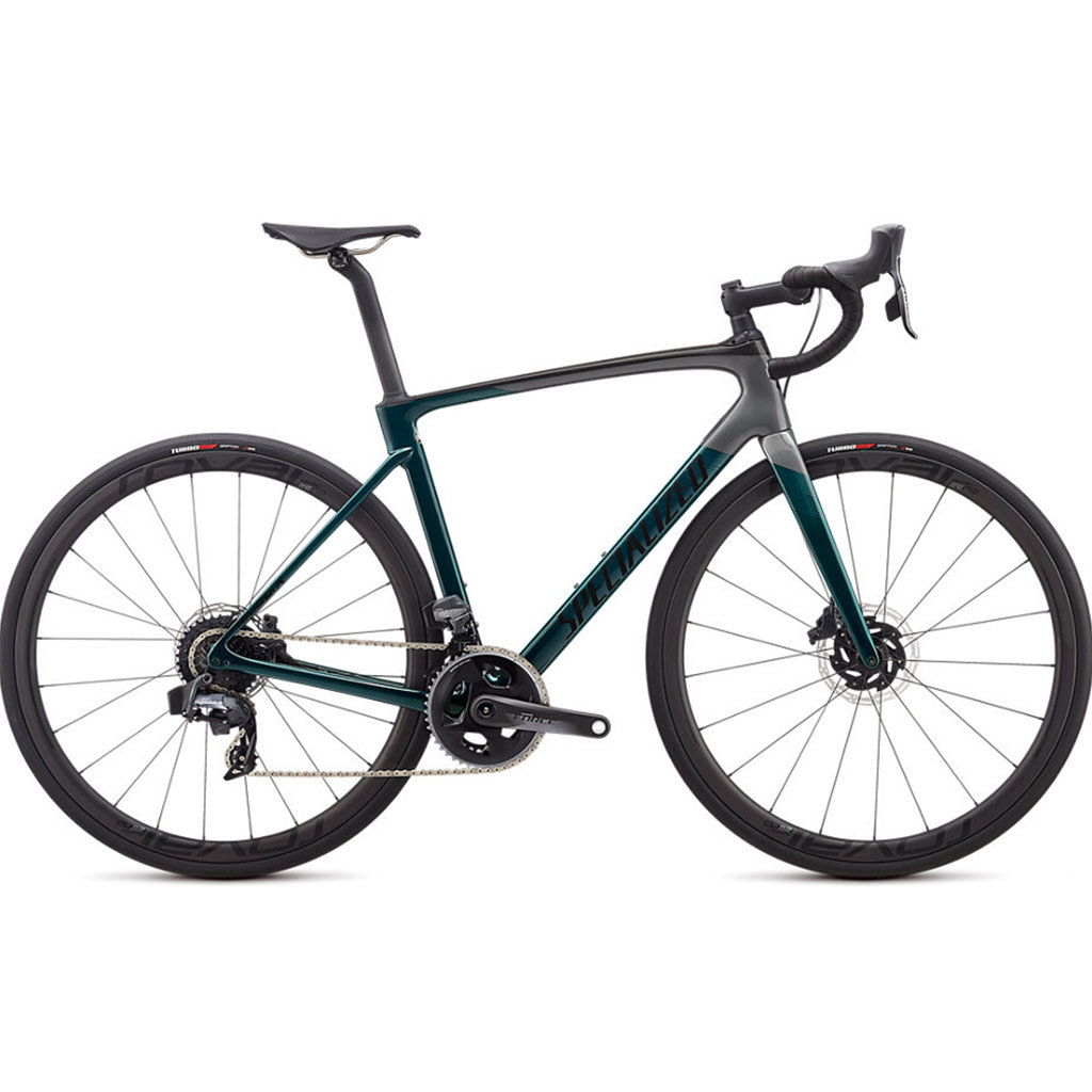 Specialized Specialized Roubaix Pro Etap Gloss Teal Tint/Charcoal/Blue - 56cm