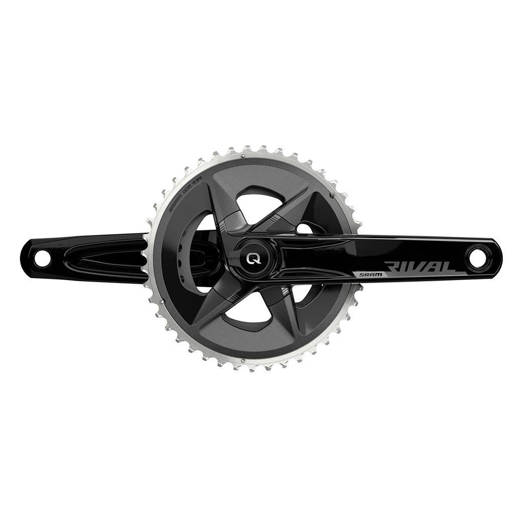 SRAM SRAM Rival  AXS Wide Power Meter Crankset - 170mm, 12-Speed, 43/30t, 8-Bolt Direct Mount, DUB Spindle Interface, Black, D1