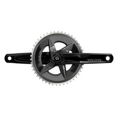 SRAM SRAM Rival AXS Crankset with Quarq Power Meter - 172.5mm, 12-Speed, 48/35t Yaw, 107 BCD, DUB Spindle Interface, Black, D1