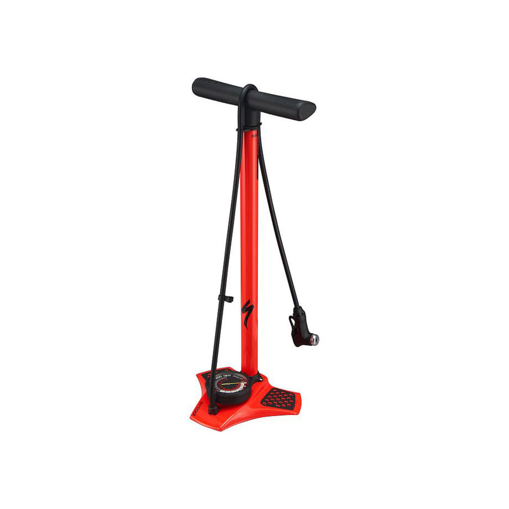 Specialized Specialized Air Tool Comp Floor Pump Rocket Red
