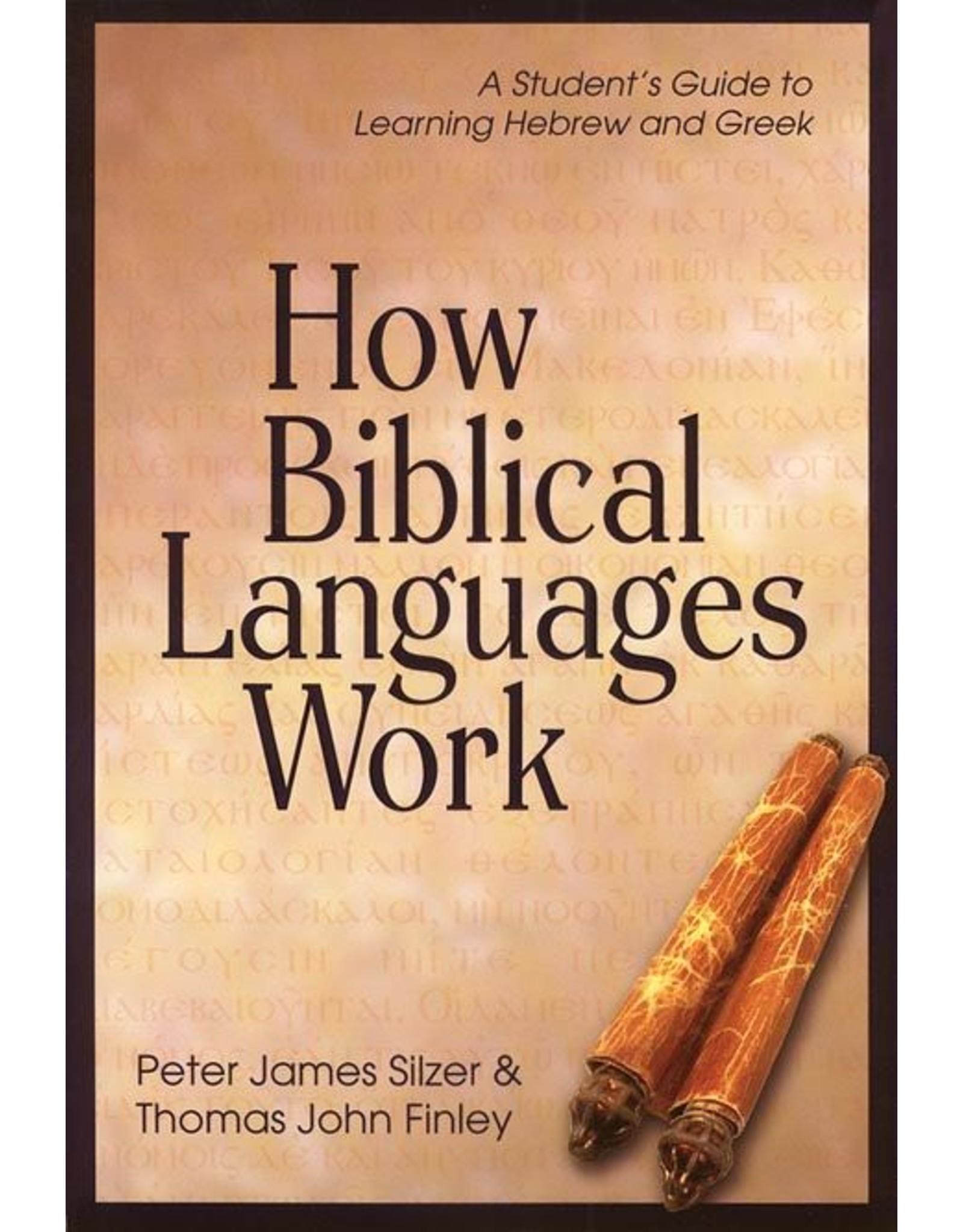 Kregel / Portavoz / Ingram How Biblical Languages Work