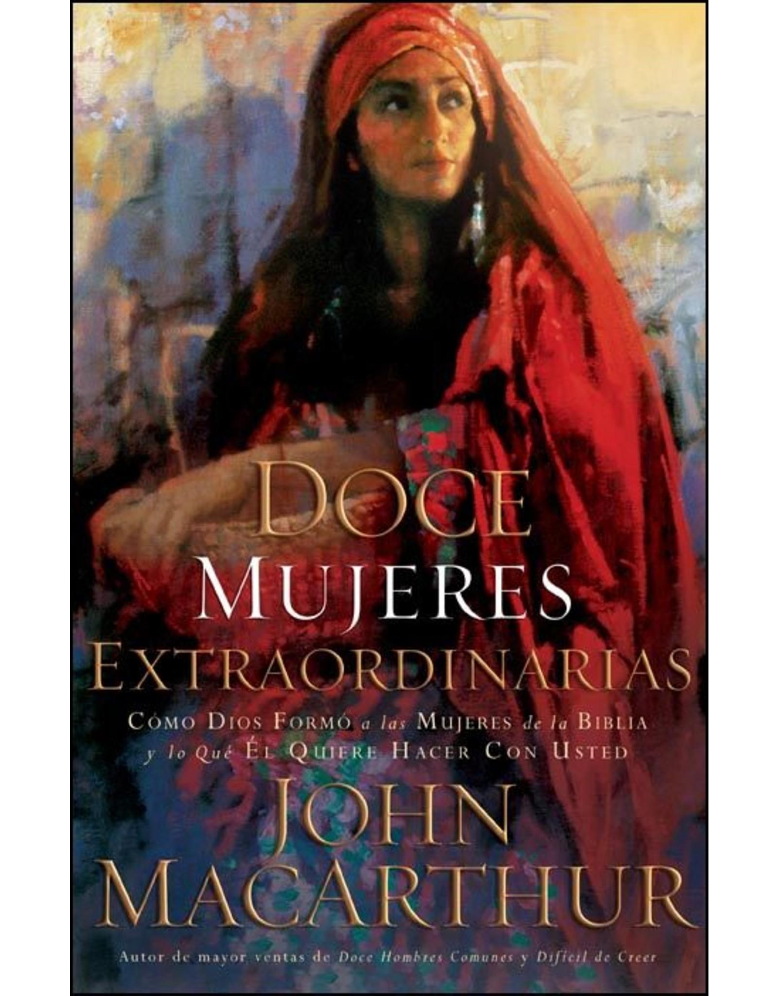 Harper Collins / Thomas Nelson / Zondervan Doce Mujeres Extraordinarias (Spanish-Twelve Extraordinary Women)