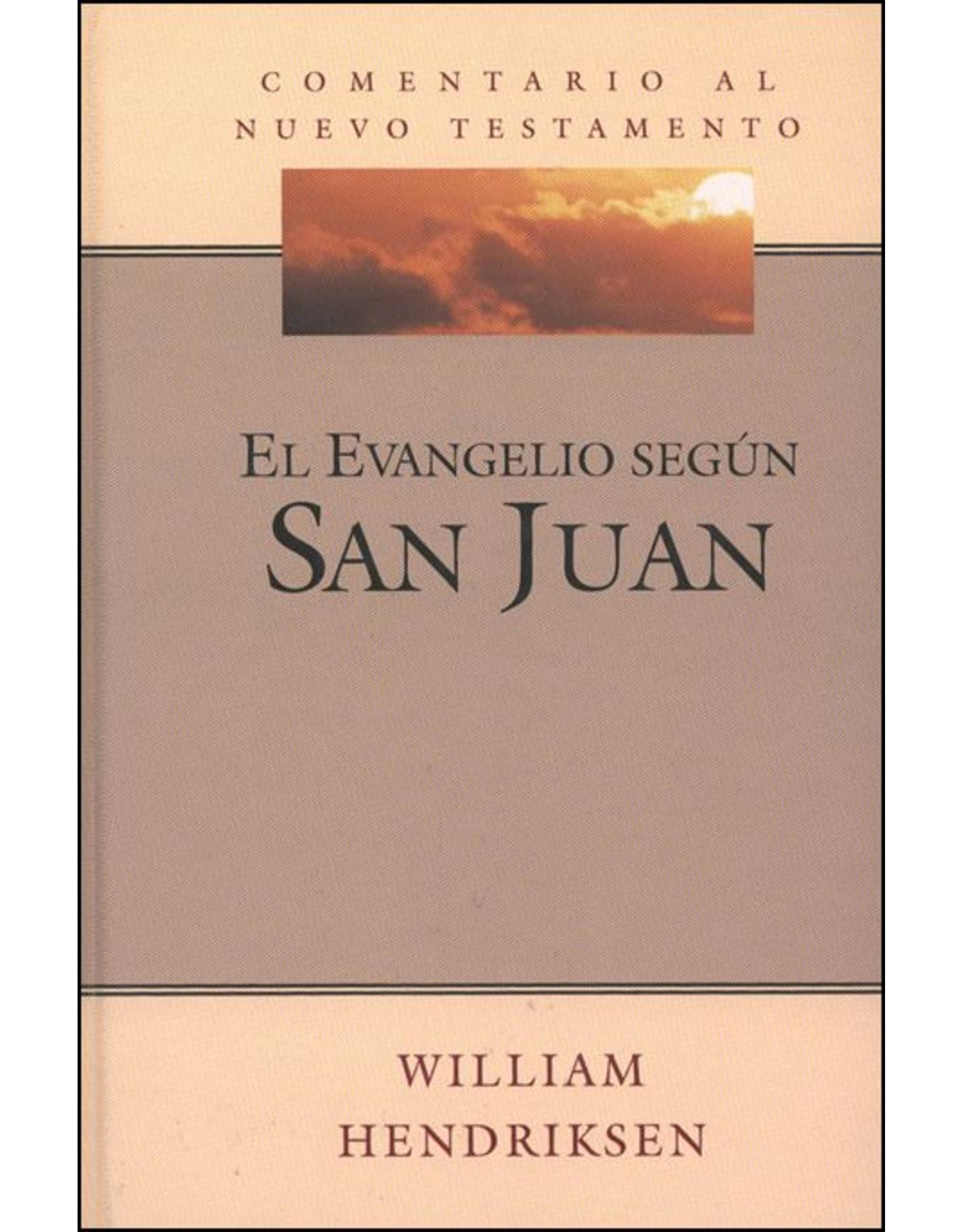 CRC San Juan (Serie Comentario al Nuevo Testamento)