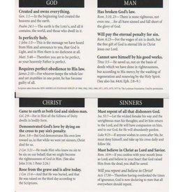 God Man Christ Sinners Tract 100-pack
