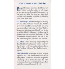 What it Means to be a Christian Tract (100 Pack)