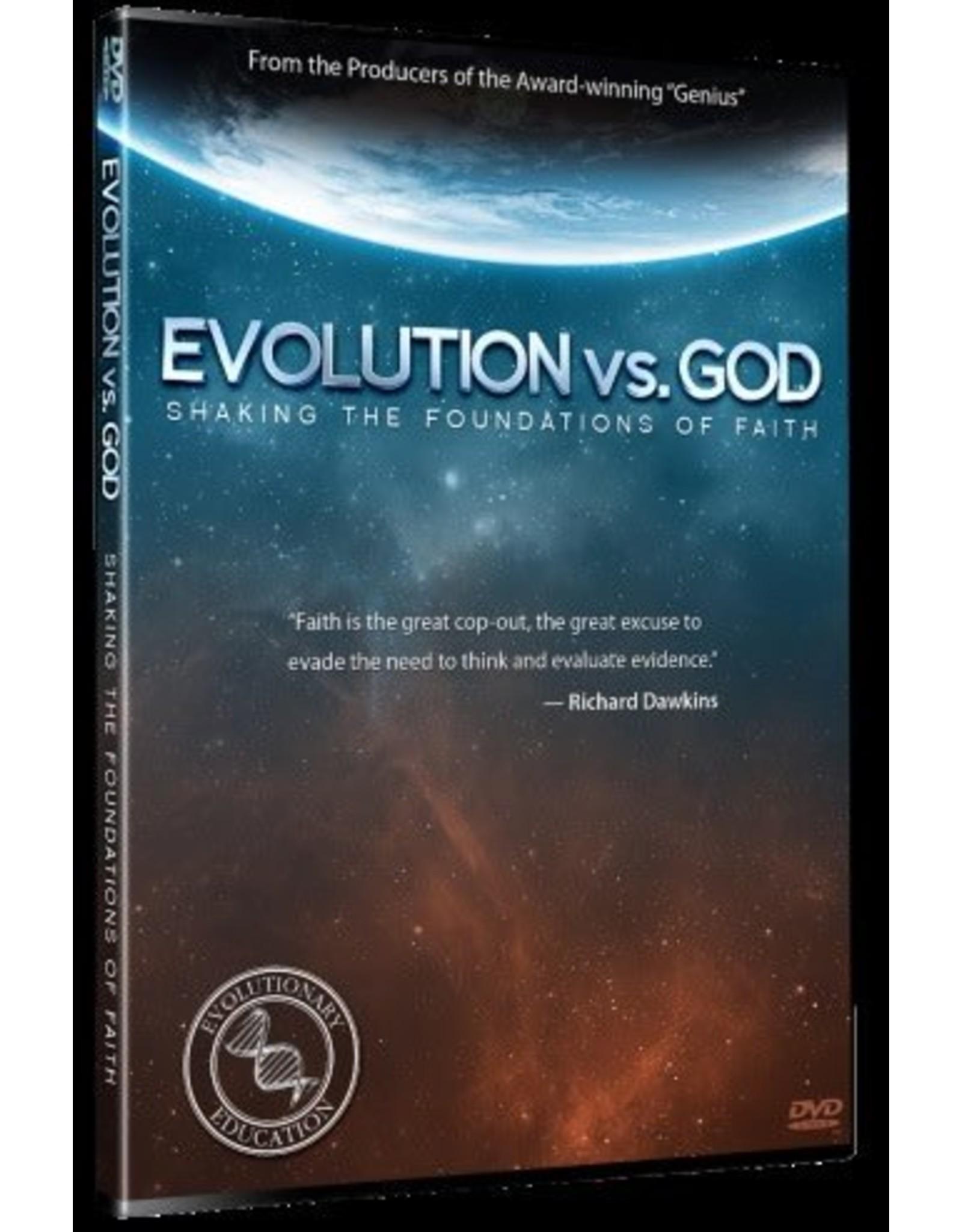 New Leaf Press Evolution vs. God (DVD)