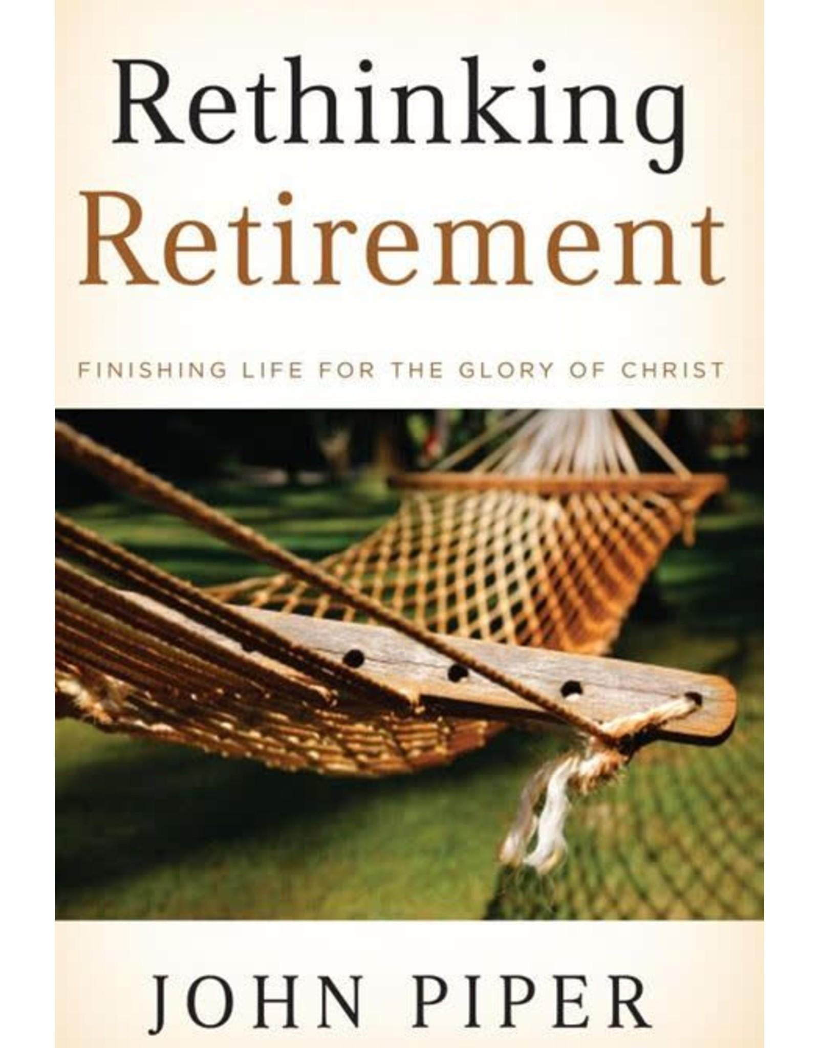 Hovel Audio Rethinking Retirement: Finishing Life For the Glory of Christ (Audio CD)