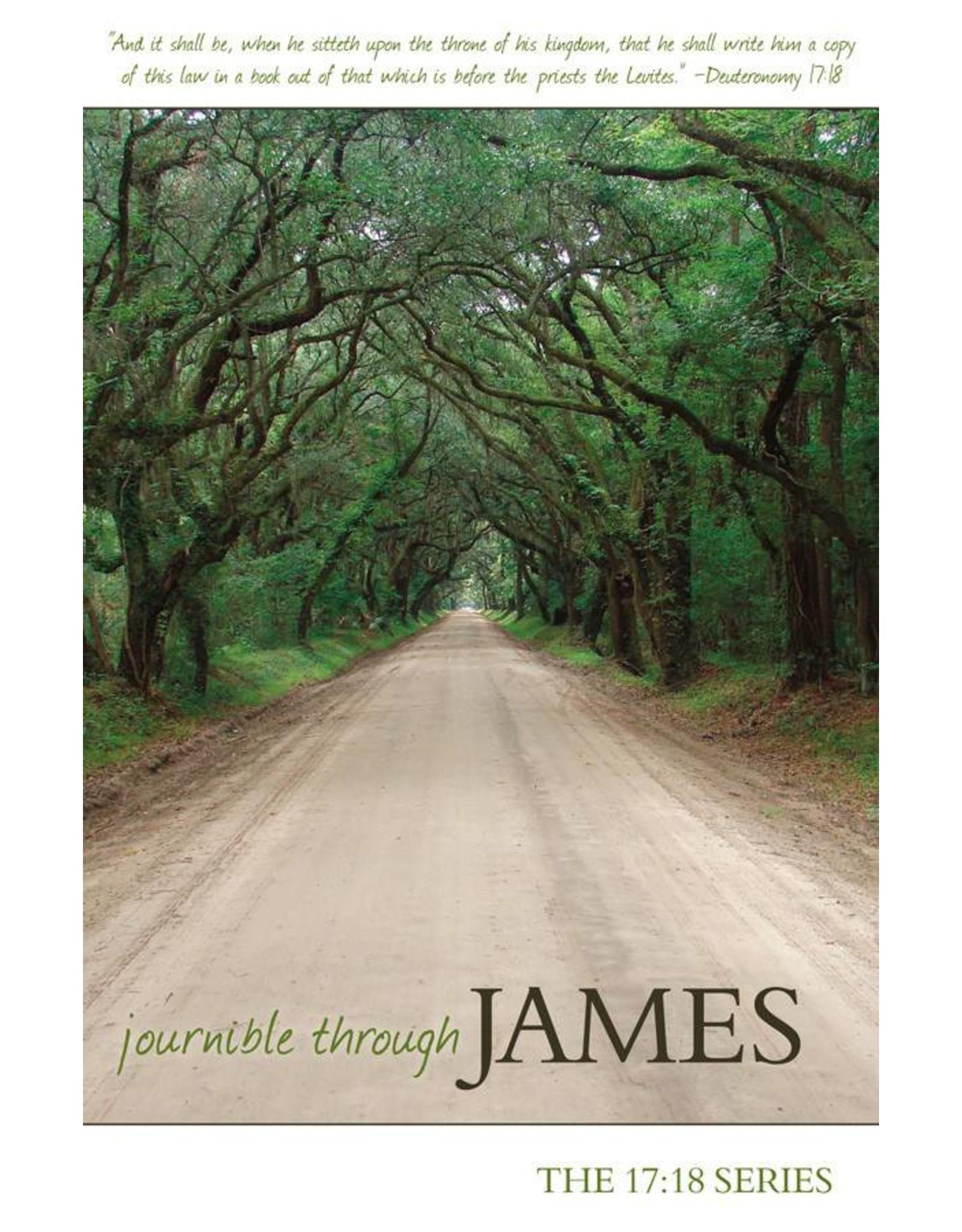 Reformation Heritage Books (RHB) Journible Through James (17:18 Series)