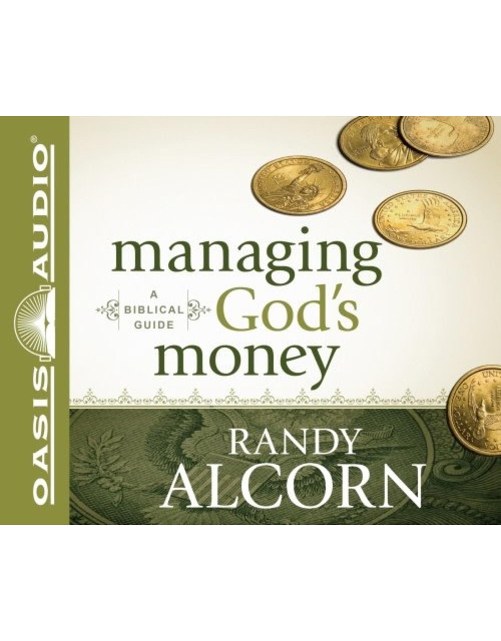 Oasis Managing God's Money: A Biblical Guide (Audio CD)