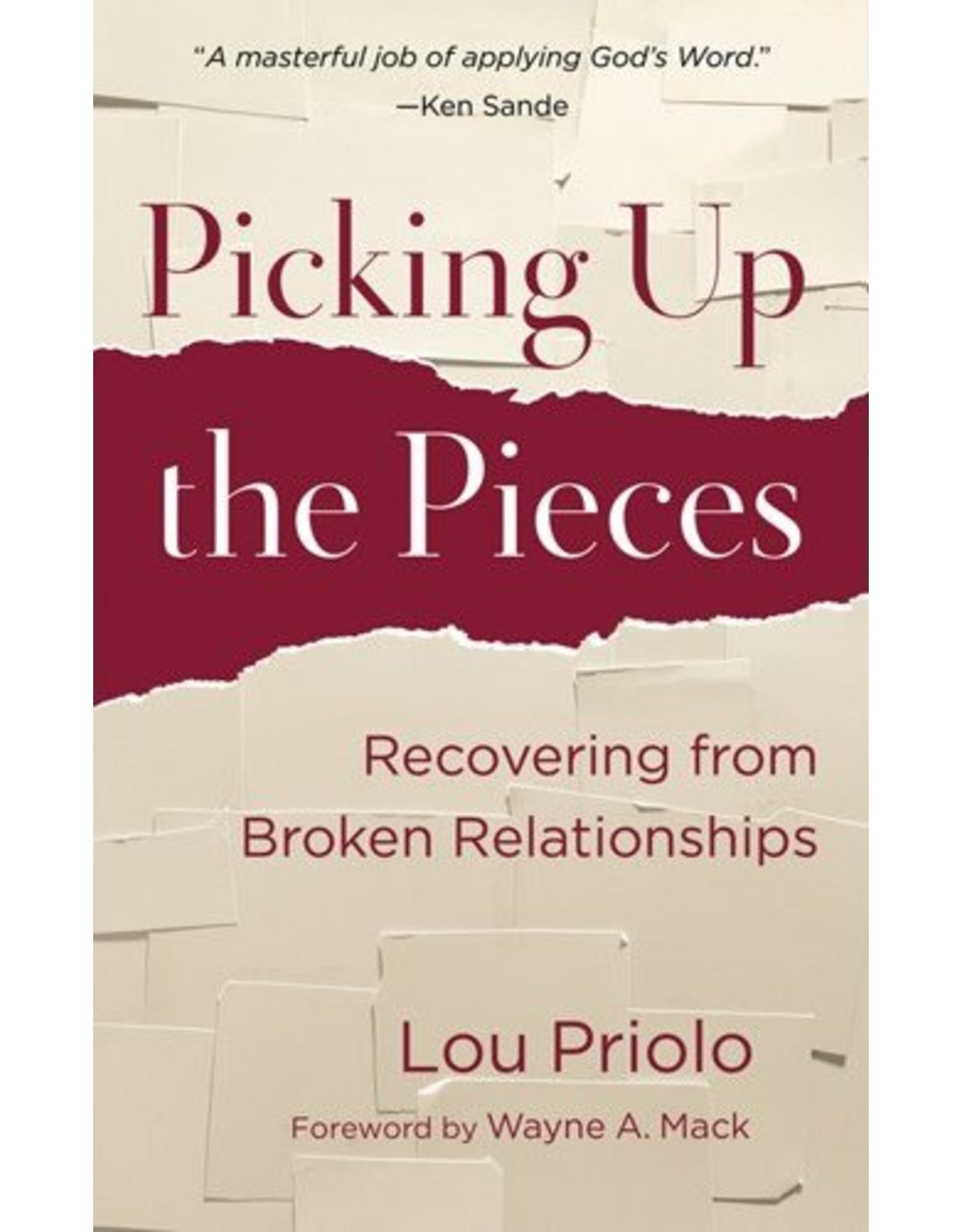 P&R Publishing (Presbyterian and Reformed) Picking Up the Pieces
