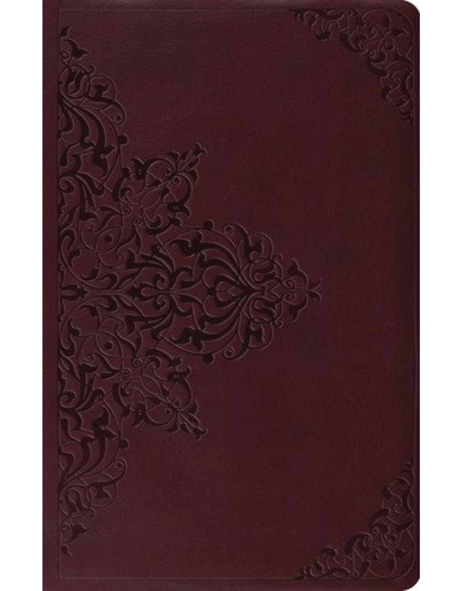 Crossway / Good News ESV Premium Gift Bible chestnut, filigree Design