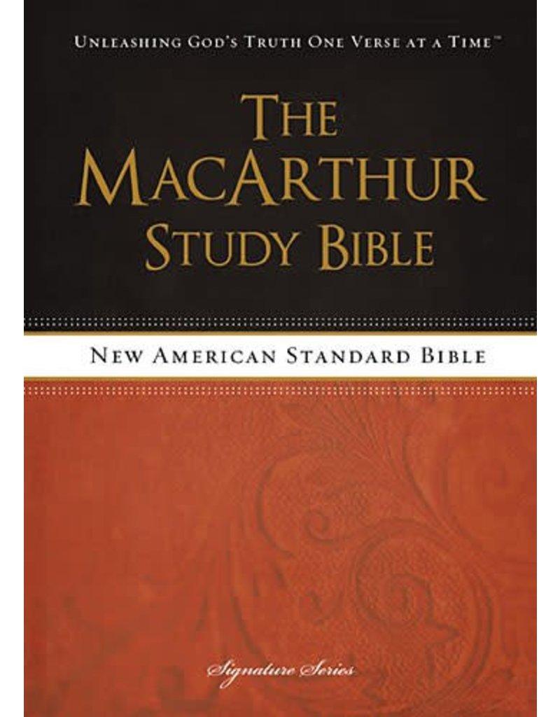 Harper Collins / Thomas Nelson / Zondervan NASB MSB MacArthur Study Bible (Hardcover, New Design)