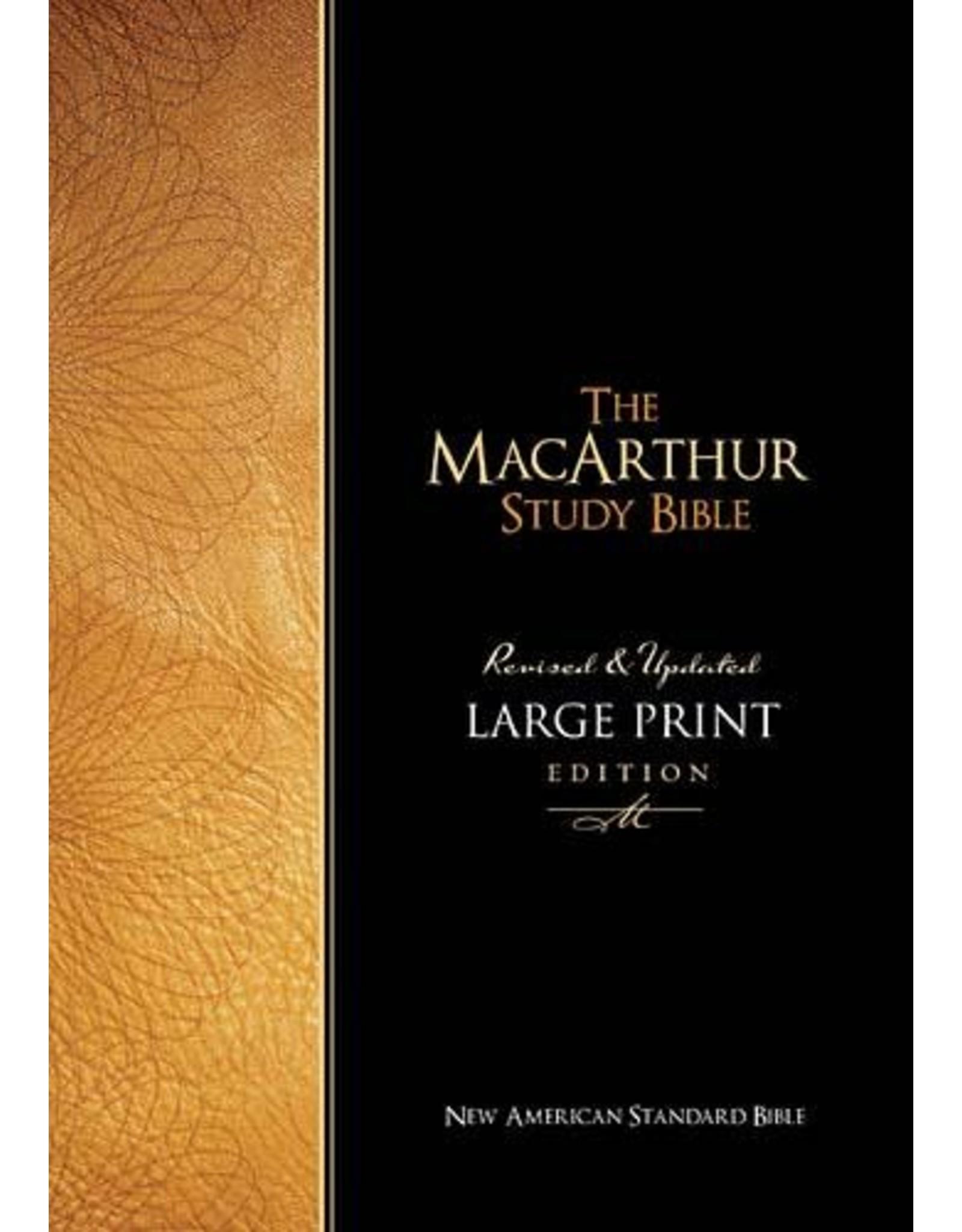 Harper Collins / Thomas Nelson / Zondervan MacArthur Study Bible: NASB Large Print, Bonded Leather