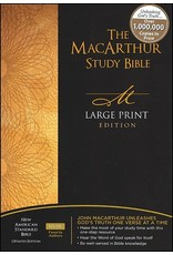 Harper Collins / Thomas Nelson / Zondervan MSB MacArthur Study Bible NAS: Large Print