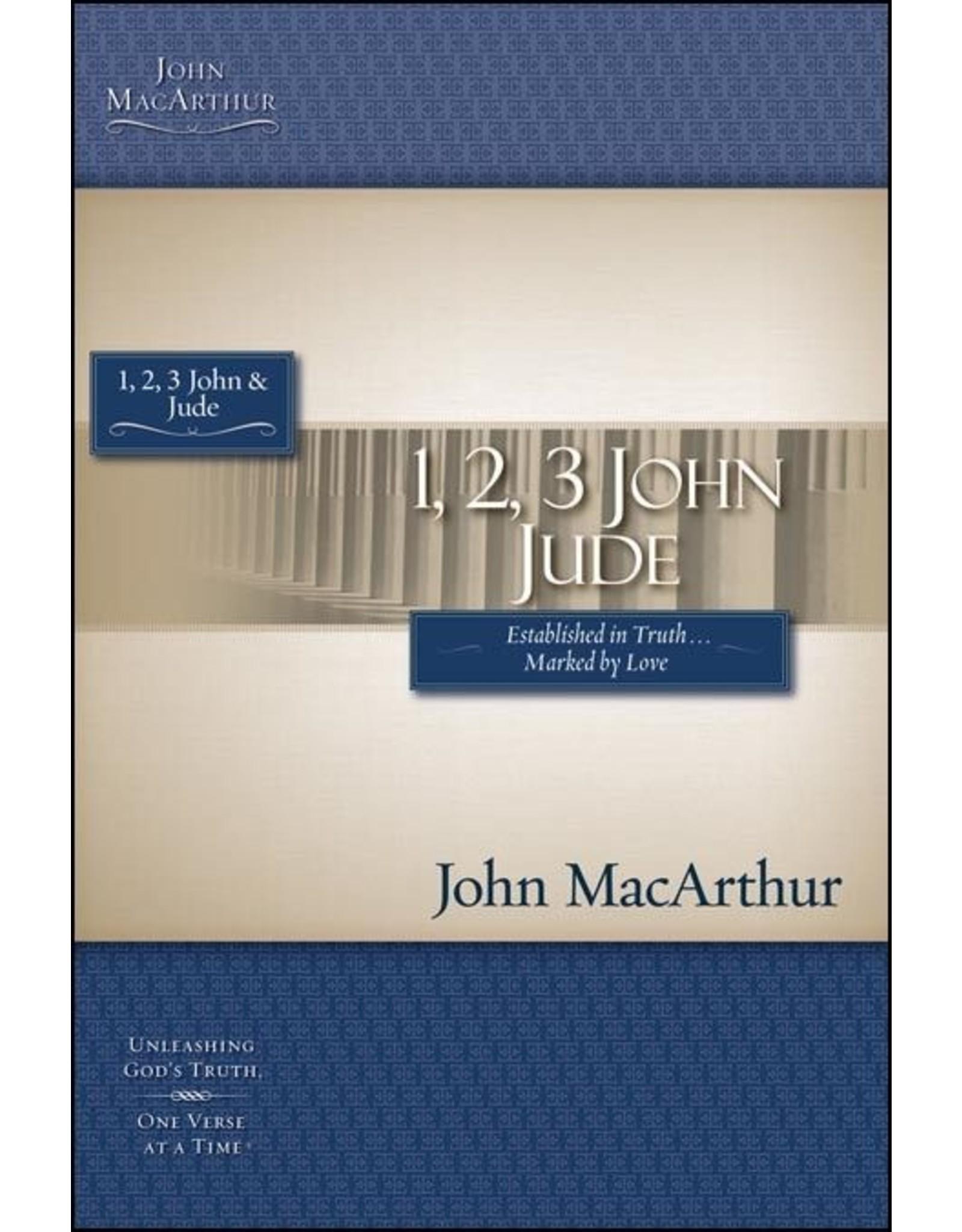 Harper Collins / Thomas Nelson / Zondervan (1st Ed.) MacArthur Bible Study: 1, 2, 3 John and Jude
