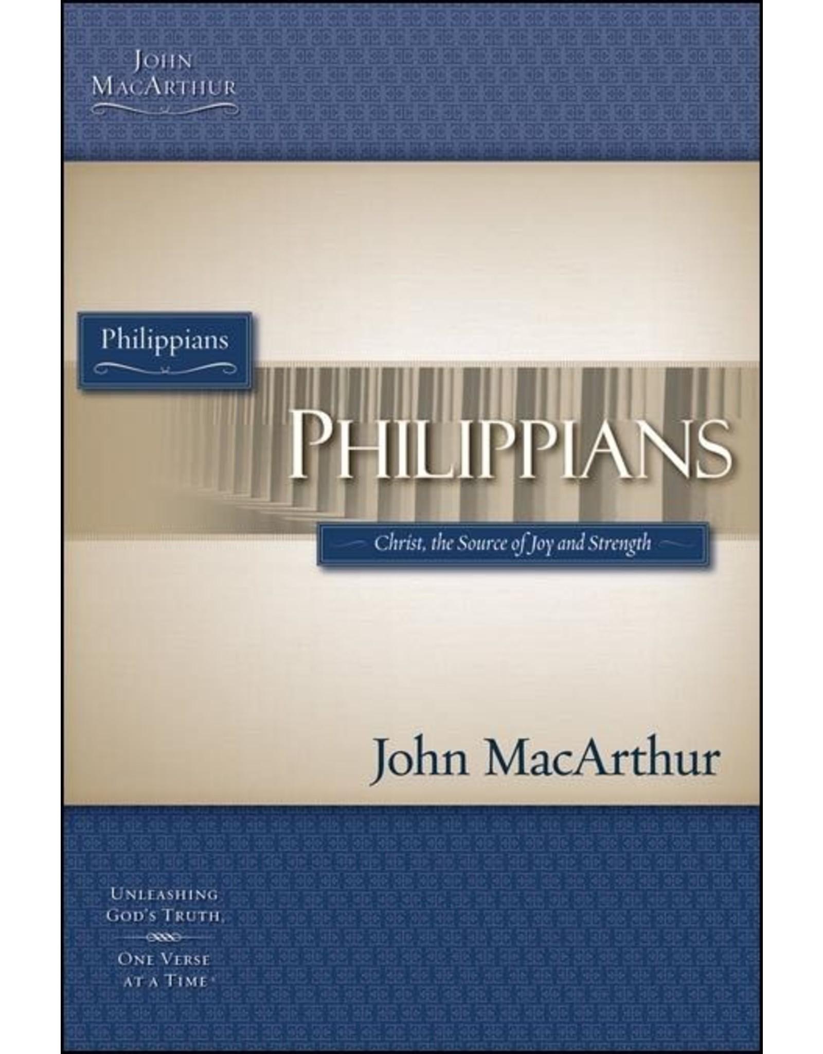 Harper Collins / Thomas Nelson / Zondervan OP MBS Philippians
