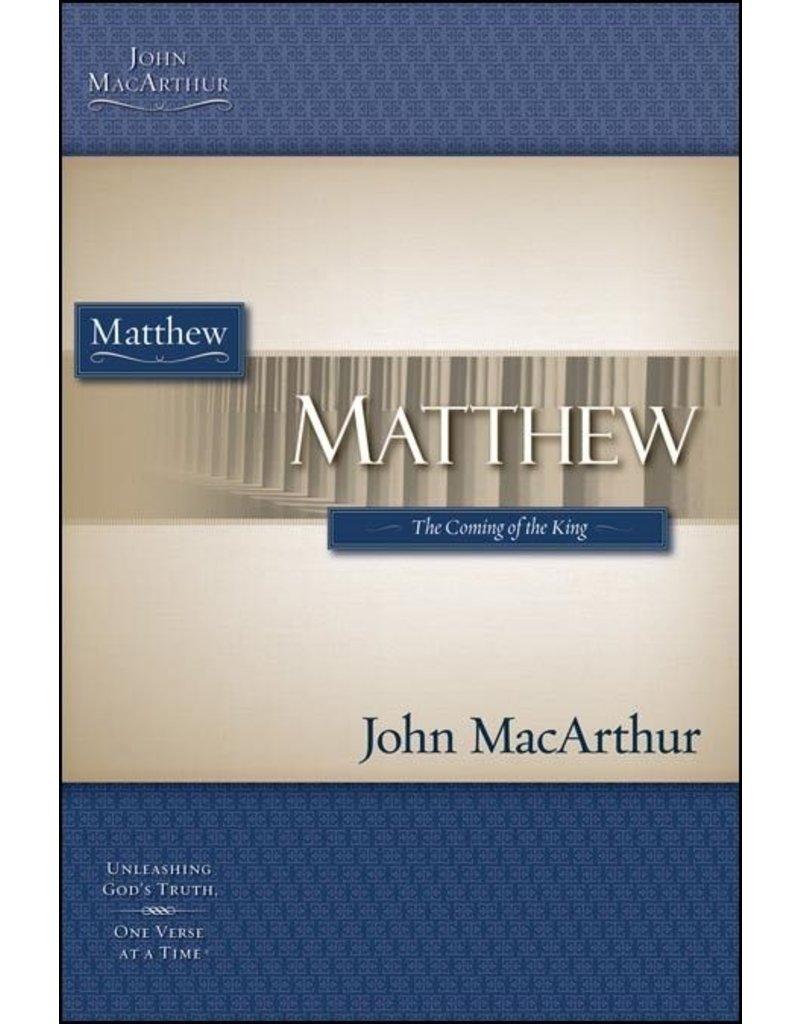 Harper Collins / Thomas Nelson / Zondervan (1st Ed.) MacArthur Bible Study: Matthew
