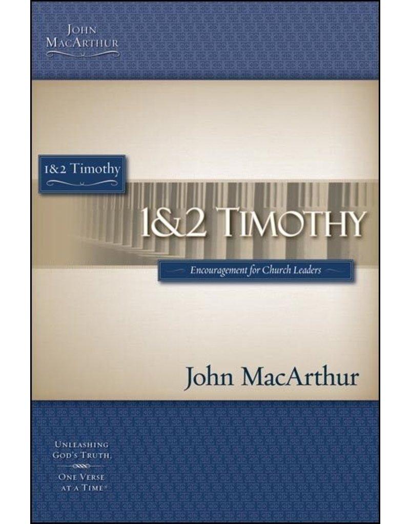 Harper Collins / Thomas Nelson / Zondervan (1st Ed.) MacArthur Bible Study (MBS): 1&2 Timothy