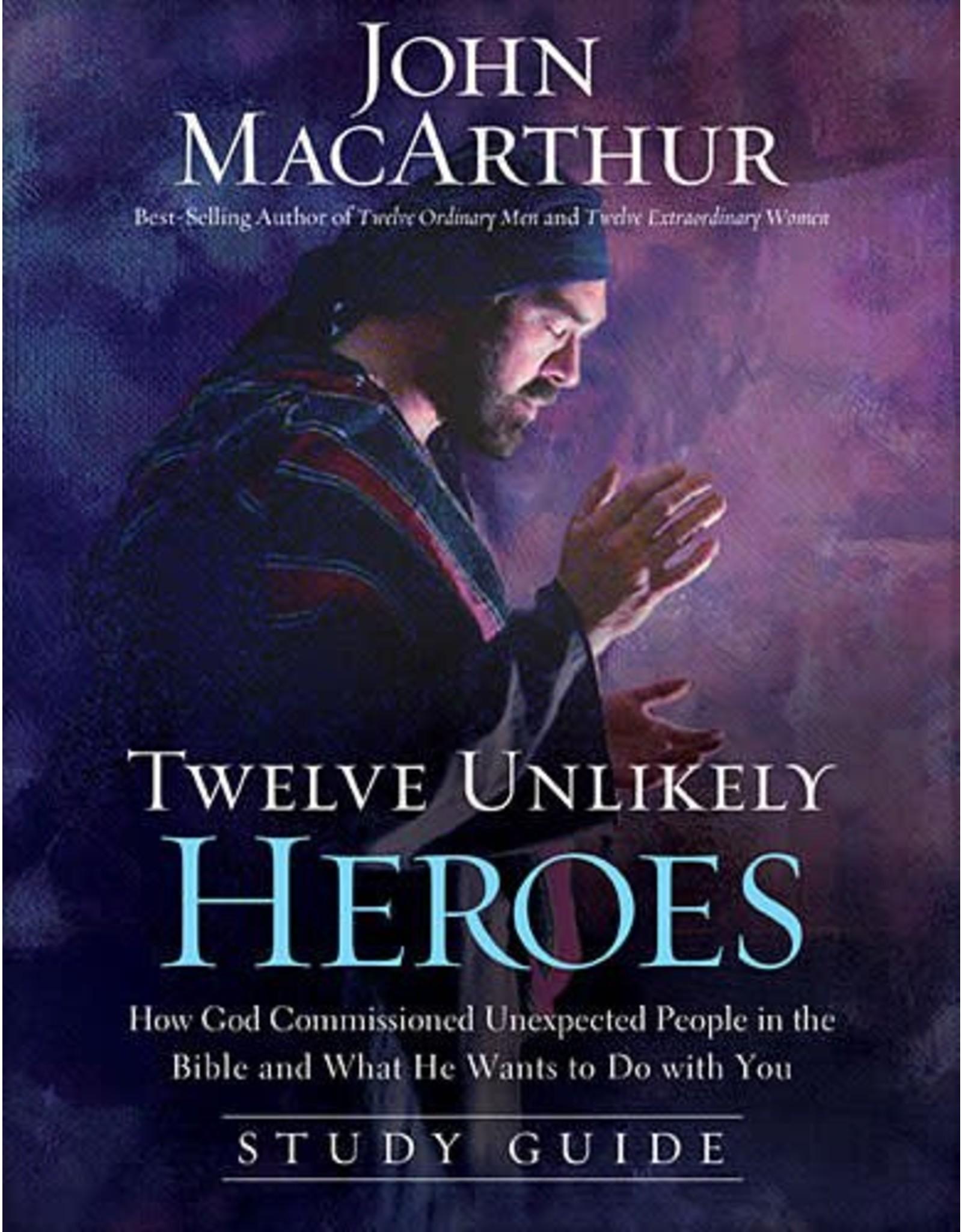 Harper Collins / Thomas Nelson / Zondervan Twelve Unlikely Heroes (Study Guide)
