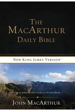 Harper Collins / Thomas Nelson / Zondervan MacArthur Daily Bible (Paper)