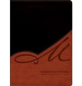 Harper Collins / Thomas Nelson / Zondervan MSB: NASB Black/Terracotta-Tan