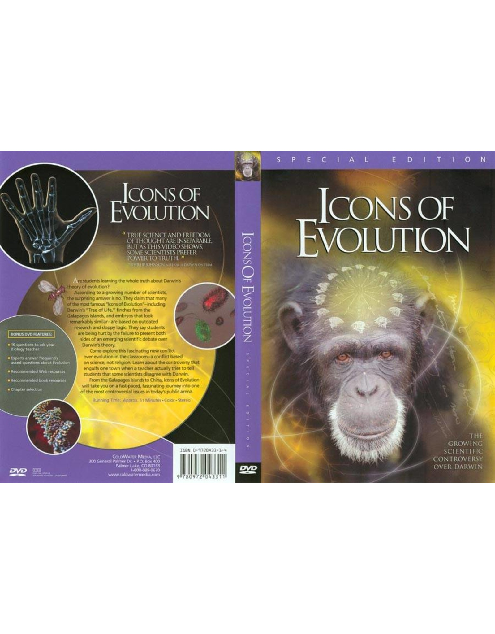 Randolf Icons of Evolution: The Growing Scientific Controversy Over Darwin (DVD)