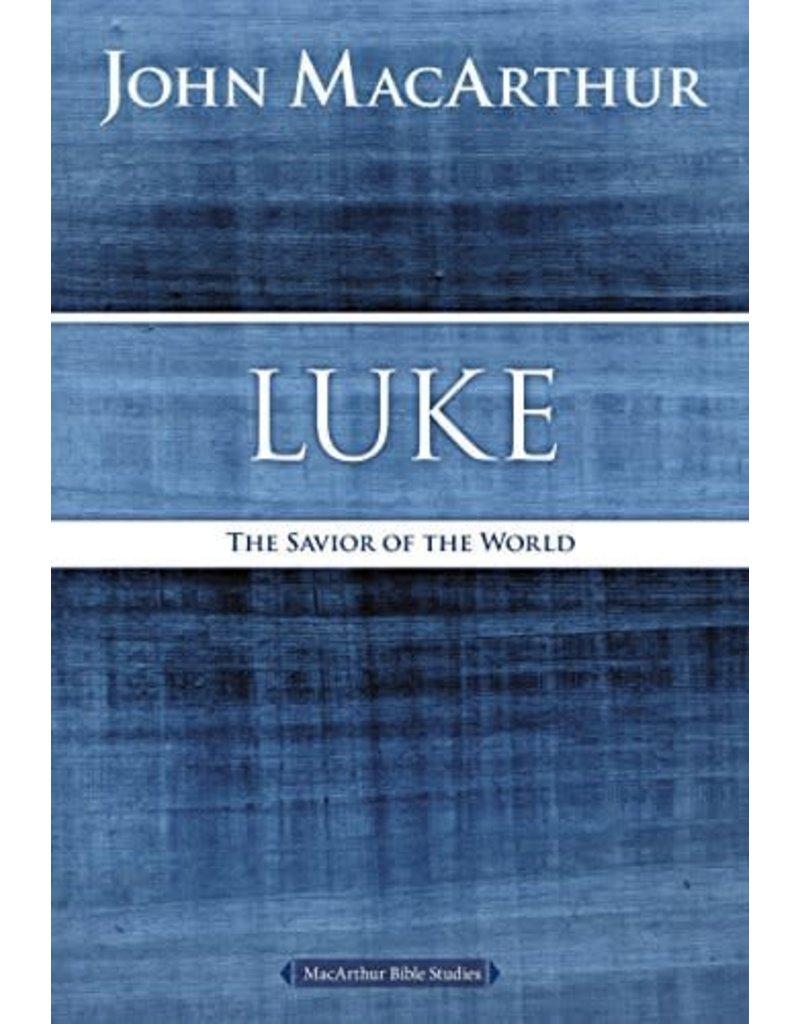 Harper Collins / Thomas Nelson / Zondervan MacArthur Bible Studies: Luke (2nd Ed.)